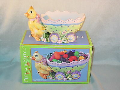 Fitz And Floyd Eggscapades Jelly Bean Wagon New In Box