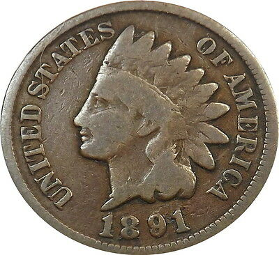 1891 1C BN Indian Cent Lot#67