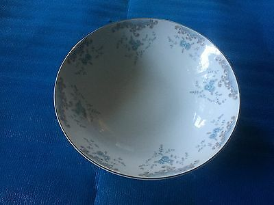 "Vintage W. Dalton Imperial China Seville 9"" Serving Bowl  Gold Trim 5303"