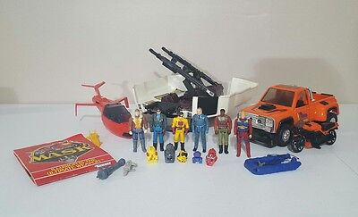 Vintage M.A.S.K Collection Lot with Firecracker and Slingshot
