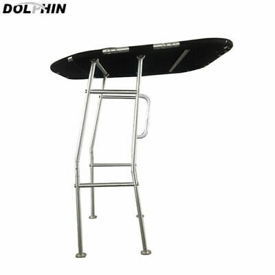 NEW! Dolphin Pro Boat T Top w/Black canopy   Heavy Duty T Top   Foldable T Top