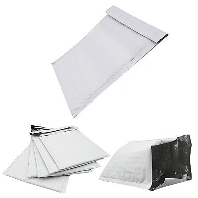 "8.5 x 12"" #2 Poly Bubble Mailers Plastic Envelopes Bulk Padded Shipping Bags"