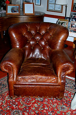 French Art Deco Leather Club Chair: A Timeless Classic