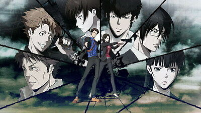 "120 PSYCHO PASS - Kougami Shinya Police Season 2 Fight Anime 24""x14"" Poster"