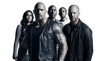 """016 Fast and Furious 8 - Vin Diesel Car Race Ation 2017 Movie 38""""x24"""" Poster"""