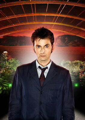 "028 DAVID TENNANT - Doctor Who UK Actor 24""x33"" Poster"