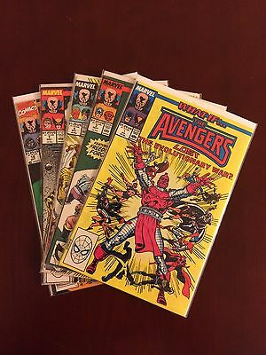 What If 1, 3, 5, 7, And 18 1989 Volume 2 Comic Lot