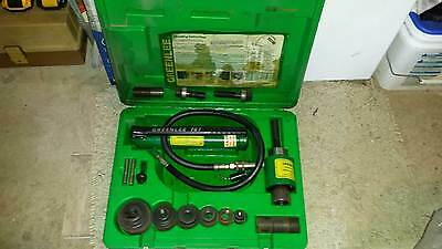 Greenlee 7646 Ram and Hand Pump Hydraulic Driver Kit