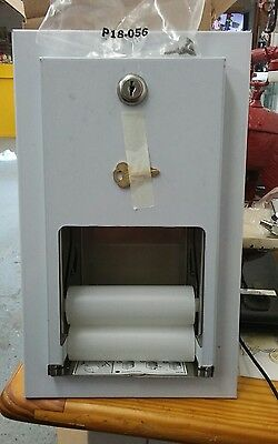 Bradley Toilet Tissue Dispenser, 5412-00 New Stainless recessed mount. Look save
