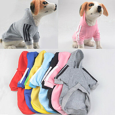 Pet Hoodie Coat Dog Jacket Winter Clothes Puppy Sweater Clothing Apparel Natural