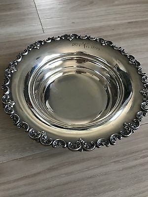 Shreve & Co San Francisco Sterling Silver Candy/nut Dish