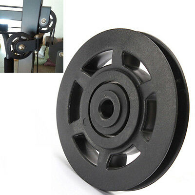 Wearproof Durable 95mm Universal Bearing Pulley Wheel Cable Gym Equipment Part