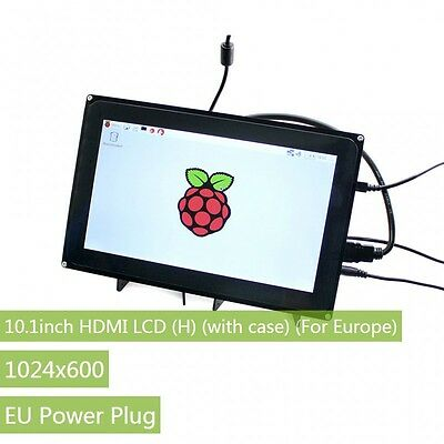10.1'' HDMI 1024×600 Capacitive Touch LCD Screen Supports Windows 10 EU Adapter