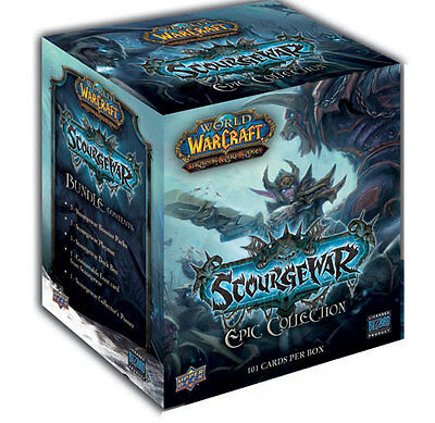 WoW TCG - Scourgewar Epic Collection - Box - Display - Neu Spektralkätzchen Loot