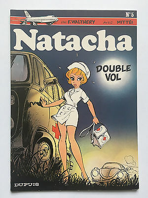 Natacha N°5: Double Vol ... Walthery / Mittei ... 7/1981