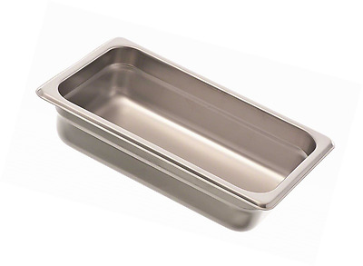 "Browne (88142) 2 1/2"" Quarter-Size Steam Table Pan"