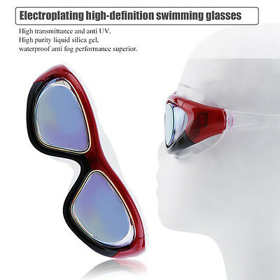 Universal Adult Swimming Goggles Men Women Anti-Fog Anti-UV Swimming Goggles OK