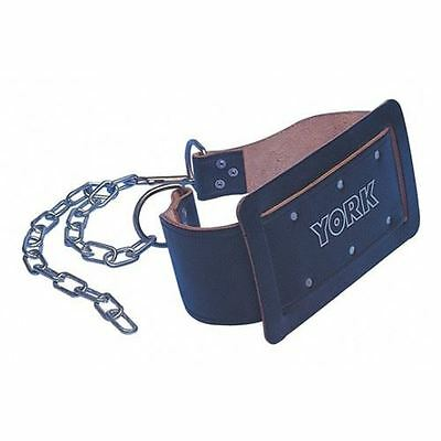 York Leather Weight Dipping Belt with Chain
