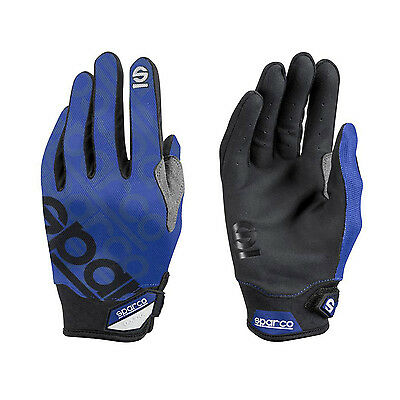 2017 Sparco Mechanic Gloves MECA-3 blue s. 8
