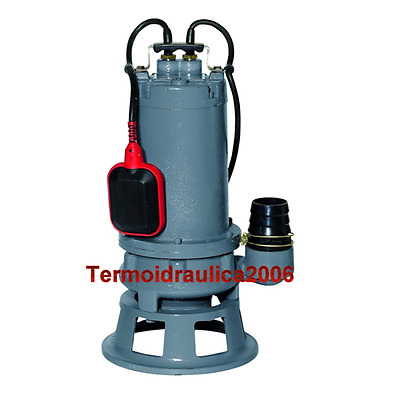 CUTTING Submersible Pump Sewage Water GRINDER 100/15M.G 0,75kW 1Hp 230V COMEX Z1