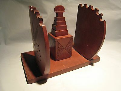 Rare Sioux Native American Indian Catlinite Pipestone Carved Inkwell Pen Stand