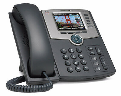 Cisco SPA525G2 5-Line Business IP Phone Wi-Fi Bluetooth Color Display SPA525 SPA