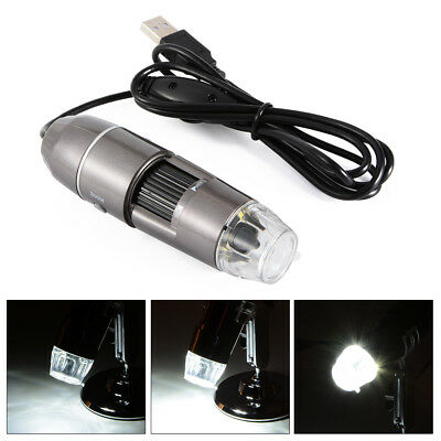 20X-800X/1000X USB2.0 Microscope Endoscope 8LED Digital Magnifier Video Camera
