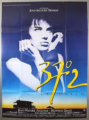 37°2 Le Matin (Betty Blue) -Beatrice Dalle- Original French Grande Movie Poster