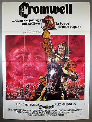 Cromwell - Richard Harris / Alec Guinness - Original French Grande Movie Poster