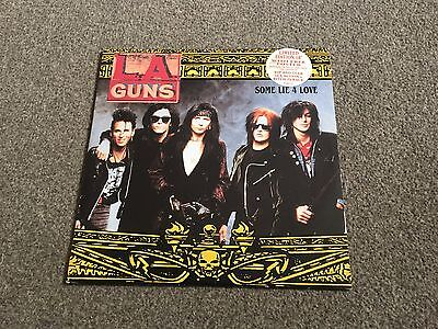 "La Guns - Some Lie 4 Love - 1991 10"" Single With Poster - Lots More Metal Look!!"