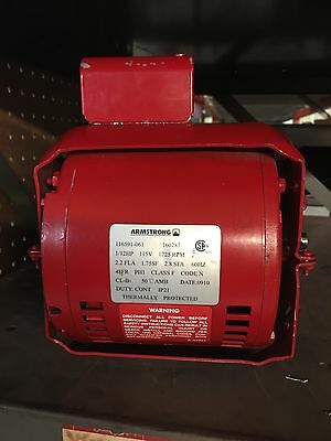 Armstrong In-Line Pump Motor 1/12hp 115v