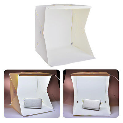 Foldable Mini Photo Photography Studio Tent Soft Box Light Cube+4 Backdrop LF774