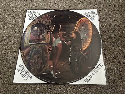 "Slaughter - Fly To The Angels - 1991 12"" Picture Disc Single Look In My Shop!!"