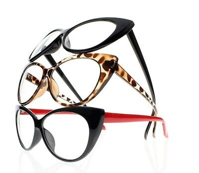 Women Retro Vintage Cat Eye Tortoise 9 Colors Reading Glasses Readers +1.0~+4.0