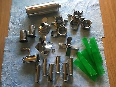 Lot of Sartorius Stedim Biotech, etc. bioreactor asst'd parts rotors mixers