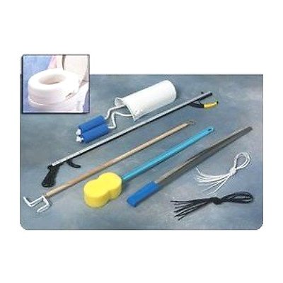 "Complete Hip Replacement Kit For Hip Surgery Recovery Patients with 32"" Reacher"