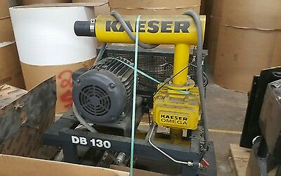 KAESER COMPRESSOR BLOWER 15 HP,  OMEGA 41, ROOTS BLOWER, with spare new motor