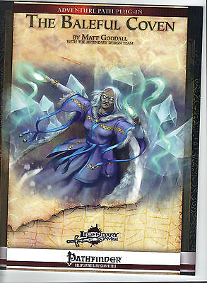 The Baleful Coven Adv Path Plug In Jade Regent AP Pathfinder Legendary Games New