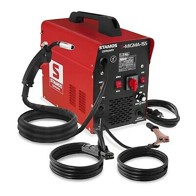 Combined Welding Machine Mobile Mig Mag Mma And Flux Welding 230V 155A Easy Use