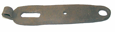 Antique HAND FORGED Barn / Gate HINGE Iron SHORT 8""