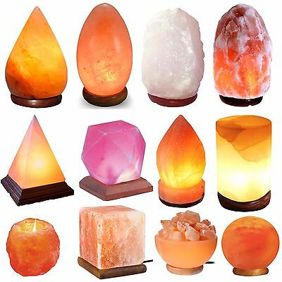 Himalayan Pink Salt Lamp Natural Rock salt lamp Salt Lamp Ionizer Different Size