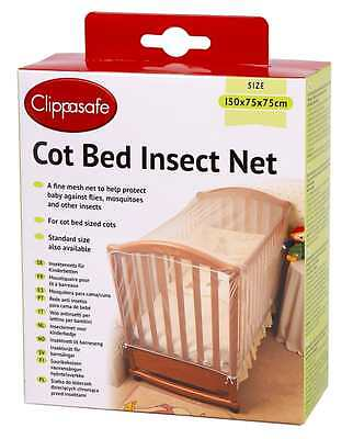 Cot Bed Insect Net Clippasafe FREE PP