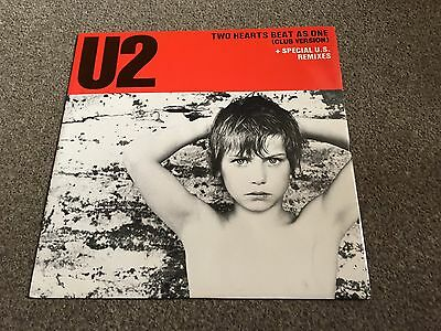 "U2 - Two Hearts Beat As One - 1983 12"" Single - Buy More & Combine Postage Look!"