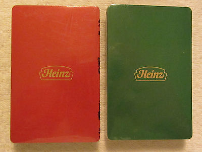 2 decks of Vintage H J  Heinz Co Playing Cards Unopened Advertising