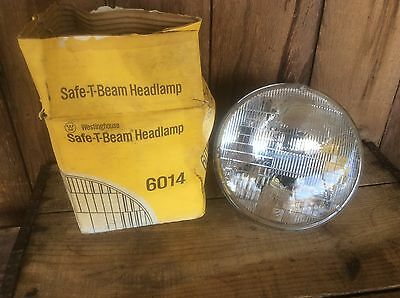Westinghouse 6014 Safe T Beam Headlight M Vintage Car Or Truck 12 Volt