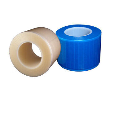 "Dental Barrier Film Sticky Wrap Clear or Blue 4"" x 6"" (1200 Sheet)"