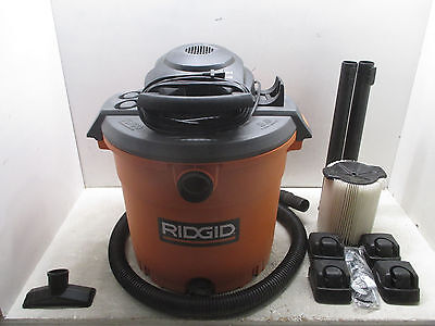 Ridgid 16 Gallon Wet /Dry Vac (GOOD COND; 408-11S