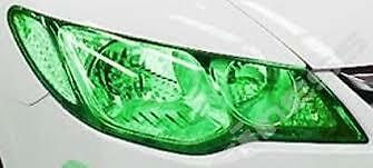 Headlight Tint Green 30Cm X 1000Cm