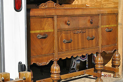 Antique Oak  Buffet Credenza Server Sideboard - LOCAL PICK UP ONLY