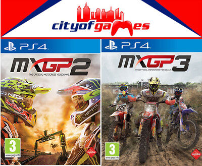MXGP 2 and 3 PS4 Game Bundle New & Sealed In Stock